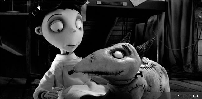 "Animated feature ""Frankenweenie"""