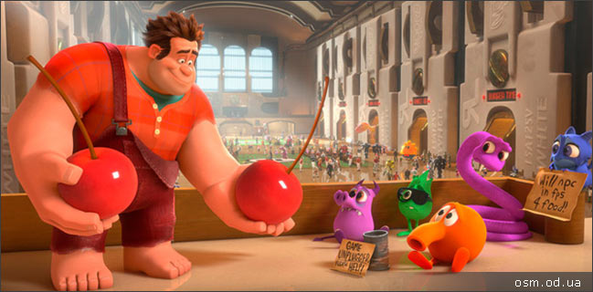 "Animated feature ""Wreck-It Ralph"""