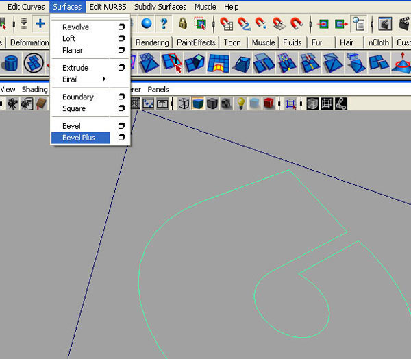 Converting vector logo in 3D - 25