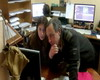 Eva Yatt and Alexey Khitrow decide another animation task.