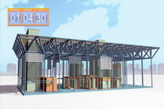 "3D graphics for the presentation of the plant ""Kislorodmash"" - 23"