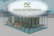"3D graphics for the presentation of the plant ""Kislorodmash"" - 26"