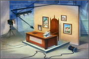 "Backgrounds for feature length animation ""Animal wars"" - 1"