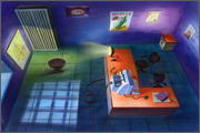 "Backgrounds for feature length animation ""Animal wars"" - 15"