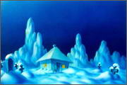 "Backgrounds for animation ""Noviy god na khutore bliz Dikan'ki. Ot zakata do rassveta"" - 1"