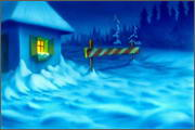 "Backgrounds for animation ""Noviy god na khutore bliz Dikan'ki. Ot zakata do rassveta"" - 11"