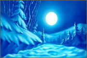 "Backgrounds for animation ""Noviy god na khutore bliz Dikan'ki. Ot zakata do rassveta"" - 2"