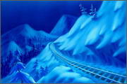 "Backgrounds for animation ""Noviy god na khutore bliz Dikan'ki. Ot zakata do rassveta"" - 3"