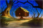 "Backgrounds for cartoons ""Zolotoe koltso"" - 13"