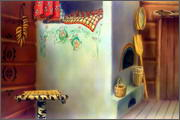 "Backgrounds for cartoons ""Zolotoe koltso"" - 2"