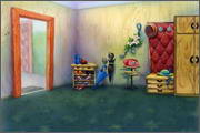 "Backgrounds for animated serial ""MASKY show"" - 103"
