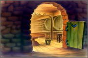 "Backgrounds for animated serial ""MASKY show"" - 111"