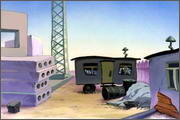 "Backgrounds for animated serial ""MASKY show"" - 126"