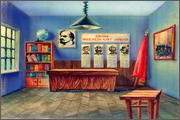 "Backgrounds for animated serial ""MASKY show"" - 16"