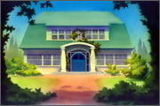 "Backgrounds for animated serial ""MASKY show"" - 17"