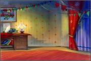 "Backgrounds for animated serial ""MASKY show"" - 19"