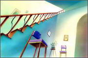 "Backgrounds for animated serial ""MASKY show"" - 2"