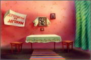 "Backgrounds for animated serial ""MASKY show"" - 21"