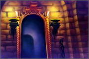 "Backgrounds for animated serial ""MASKY show"" - 28"
