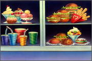 "Backgrounds for animated serial ""MASKY show"" - 33"