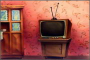 "Backgrounds for animated serial ""MASKY show"" - 35"