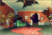 "Backgrounds for animated serial ""MASKY show"" - 5"