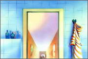 "Backgrounds for animated serial ""MASKY show"" - 59"