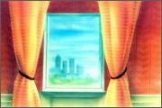 "Backgrounds for animated serial ""MASKY show"" - 6"