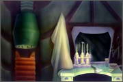 "Backgrounds for animated serial ""MASKY show"" - 64"