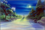 "Backgrounds for animated serial ""MASKY show"" - 69"