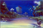 "Backgrounds for animated serial ""MASKY show"" - 70"