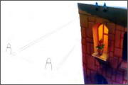 "Backgrounds for animated serial ""MASKY show"" - 79"