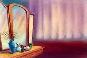 "Backgrounds for animated serial ""MASKY show"" - 8"