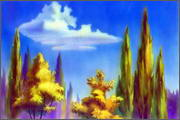 "Backgrounds for animated serial ""MASKY show"" - 83"