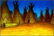 "Backgrounds for animated serial ""MASKY show"" - 85"