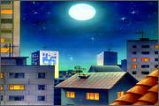 "Backgrounds for animated serial ""MASKY show"" - 88"