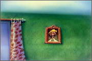 "Backgrounds for animated serial ""MASKY show"" - 9"