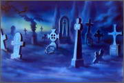 "Backgrounds for animated serial ""MASKY show"" - 95"