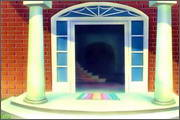 "Backgrounds for animated serial ""MASKY show"" - 97"