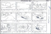 "Storyboard of animation ""Novy God na khutore bliz Dikanki. Ot zakata do rassveta""  - 1"