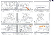 "Storyboard of animation ""Novy God na khutore bliz Dikanki. Ot zakata do rassveta""  - 18"
