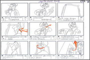 "Storyboard of animation ""Novy God na khutore bliz Dikanki. Ot zakata do rassveta""  - 20"