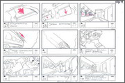 "Storyboard of animation ""Novy God na khutore bliz Dikanki. Ot zakata do rassveta""  - 24"