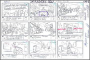 "Storyboard of animation ""Novy God na khutore bliz Dikanki. Ot zakata do rassveta""  - 3"