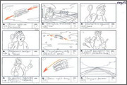 "Storyboard of animation ""Novy God na khutore bliz Dikanki. Ot zakata do rassveta""  - 30"