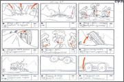 "Storyboard of animation ""Novy God na khutore bliz Dikanki. Ot zakata do rassveta""  - 34"