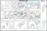 "Storyboard of animation ""Novy God na khutore bliz Dikanki. Ot zakata do rassveta""  - 35"