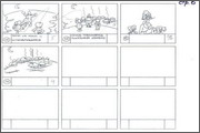 "Storyboard of animation ""Novy God na khutore bliz Dikanki. Ot zakata do rassveta""  - 40"