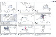 "Storyboard of animation ""Novy God na khutore bliz Dikanki. Ot zakata do rassveta""  - 43"
