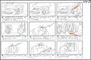 "Storyboard of animation ""Novy God na khutore bliz Dikanki. Ot zakata do rassveta""  - 48"